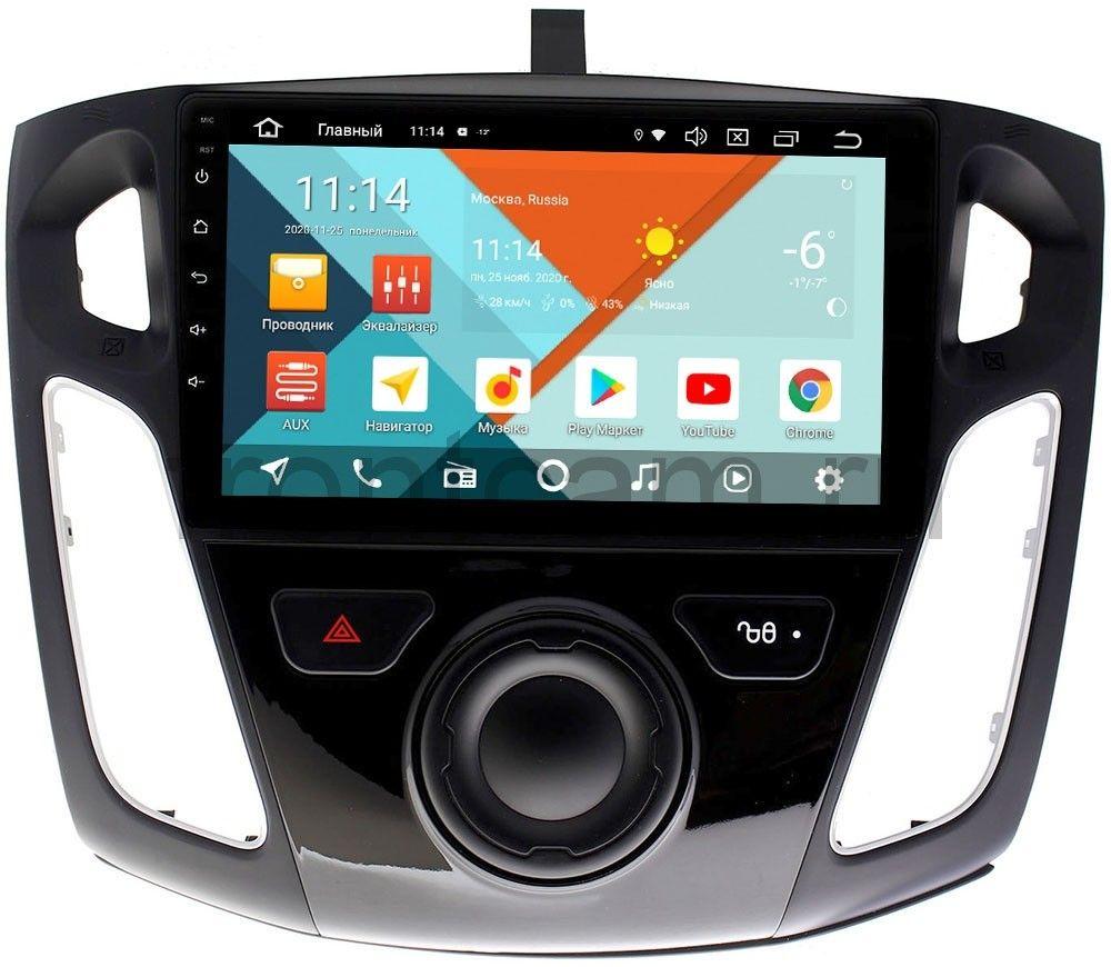 Штатная магнитола Ford Focus III 2011-2020 Wide Media KS9065QR-3/32 DSP CarPlay 4G-SIM на Android 10 (+ Камера заднего вида в подарок!)