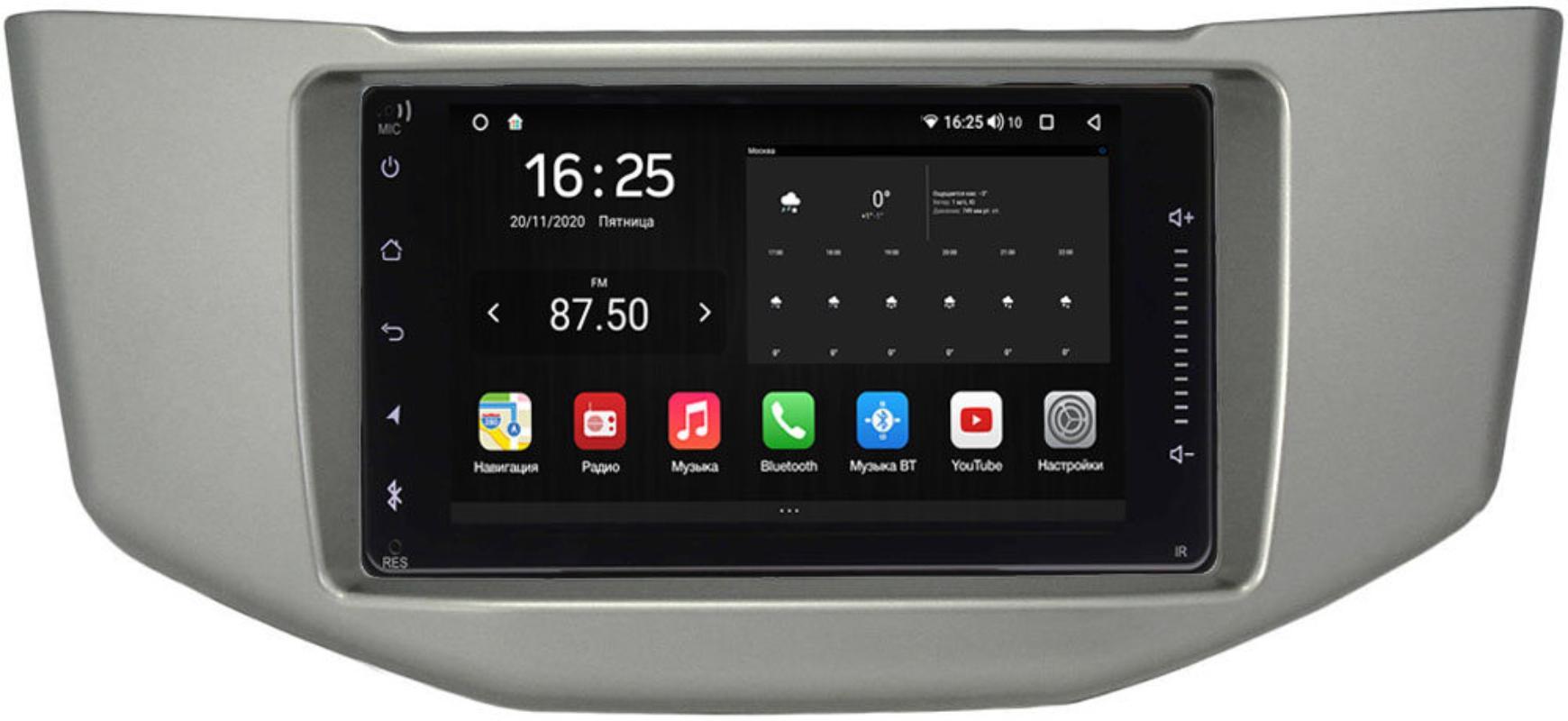 Штатная магнитола Lexus RX II 300, RX II 330, RX II 350, RX II 400h 2003-2009 Wide Media KS6901QR-3/32-RP-TYHR3XC-04 на Android 10 (DSP CarPlay 4G-SIM) (+ Камера заднего вида в подарок!)