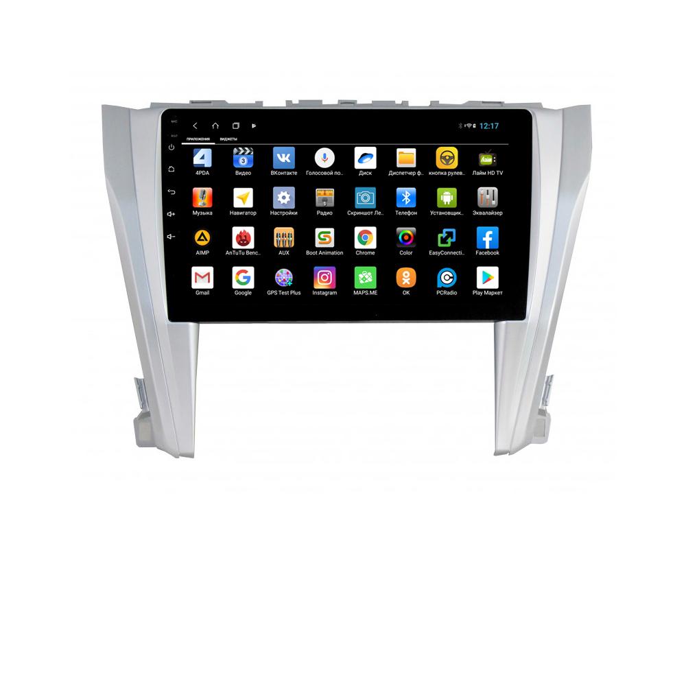 Фото - Штатная магнитола Parafar для Toyota Camry V55 Android 8.1.0 (PF466XHD) (+ Камера заднего вида в подарок!) штатная магнитола parafar для toyota lc100 1998 2003 android 8 1 0 pf450xhd камера заднего вида в подарок