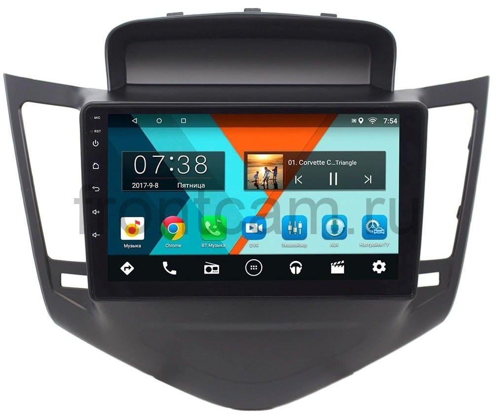 Штатная магнитола Chevrolet Cruze I 2009-2012 Wide Media MT9010MF-2/16 на Android 7.1.1 (+ Камера заднего вида в подарок!)