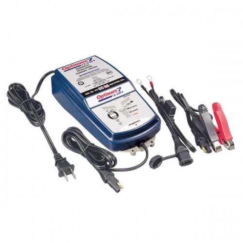 Зарядное устройство OptiMate 7 Select TM260 (12/24В) зарядное устройство для акб вымпел 27