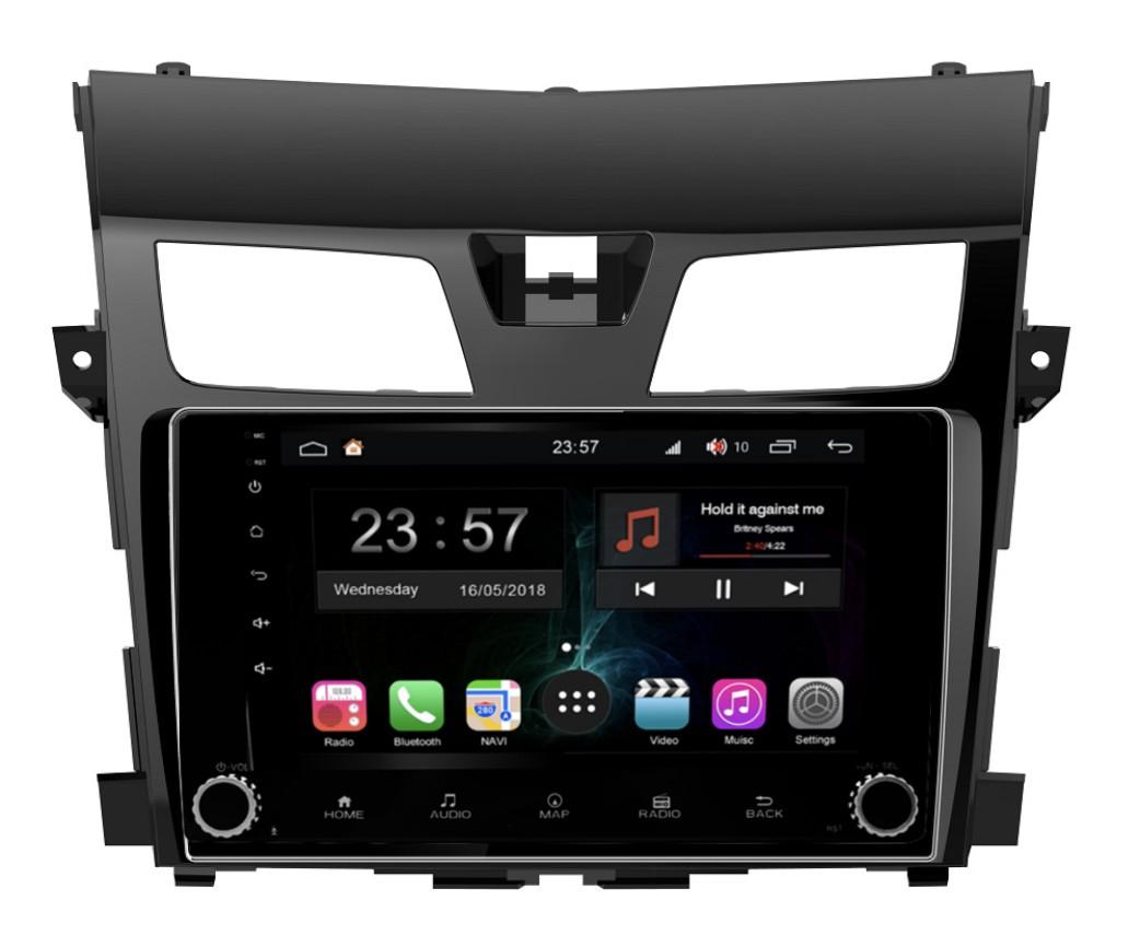 Штатная магнитола FarCar s300-SIM 4G для Nissan Teana на Android (RG2004RB) (+ Камера заднего вида в подарок!)