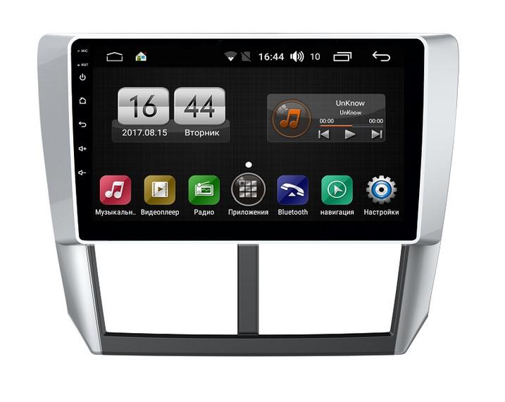 Штатная магнитола FarCar s185 для Subaru Forester 2008-2012 на Android (LY062R) (+ Камера заднего вида в подарок!)