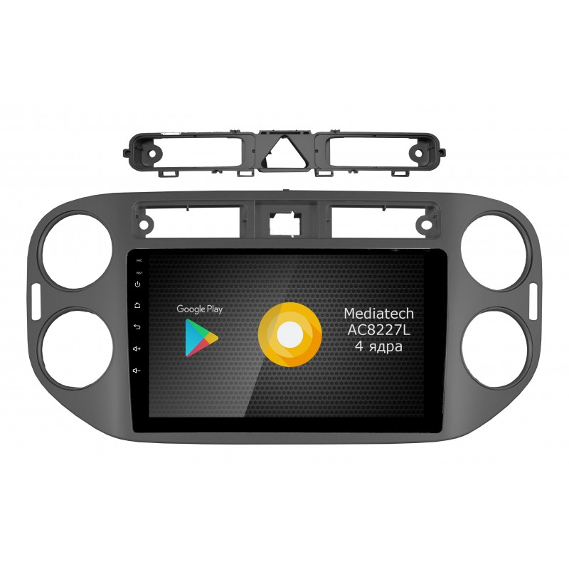 Штатная магнитола Roximo S10 RS-3704 для Volkswagen Tiguan (Android 8.1)