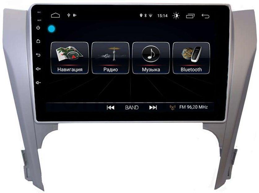 цена на Штатная магнитола LeTrun 2442 для Toyota Camry V50 2011-2014 на Android 8.0.1 MTK-L 1Gb (+ Камера заднего вида в подарок!)