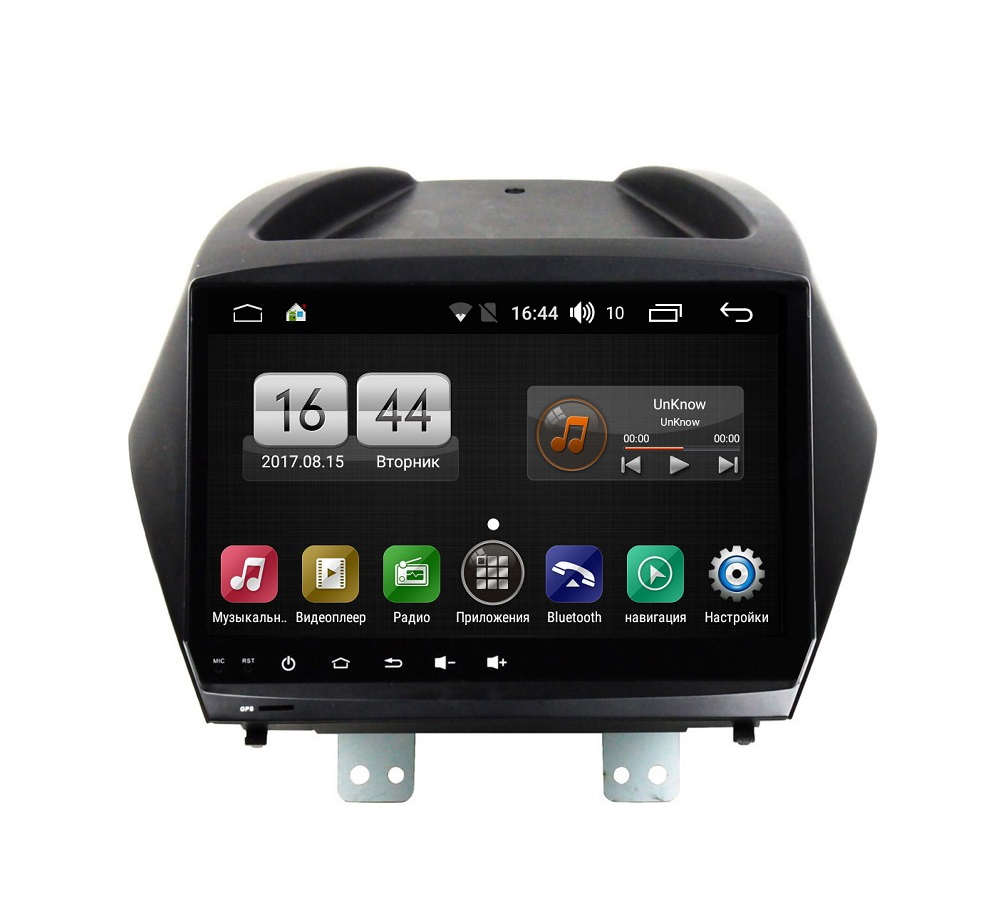 Штатная магнитола FarCar s195 для Hyundai IX35 2010-2015 на Android (LX361R) (+ Камера заднего вида в подарок!)