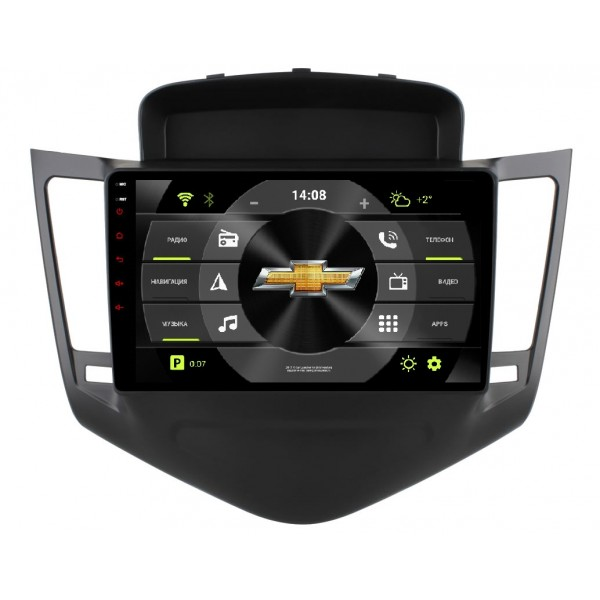 Головное устройство Subini CHV901 с экраном 9 для Chevrolet Cruze J300, J305, 308 new arrival ucandas vdm ii wifi automotive scanner vdm2 v3 9 support multi language and android system free shipping