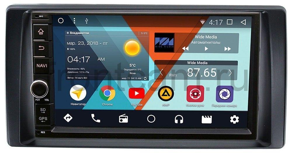 Штатная магнитола Wide Media WM-VS7A706NB-RP-TYCA3Xc-10 для Toyota Camry V30 2001-2006 (без климата) Android 7.1.2