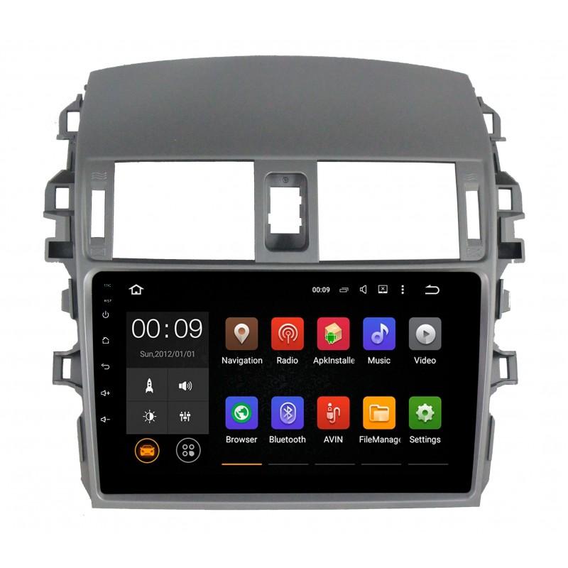 Фото - Штатная магнитола Roximo 4G RX-1104 для Toyota Corolla e150 (Android 6.0) штатная магнитола roximo 4g rx 1113 для toyota land cruiser 200 2015 android 6 0
