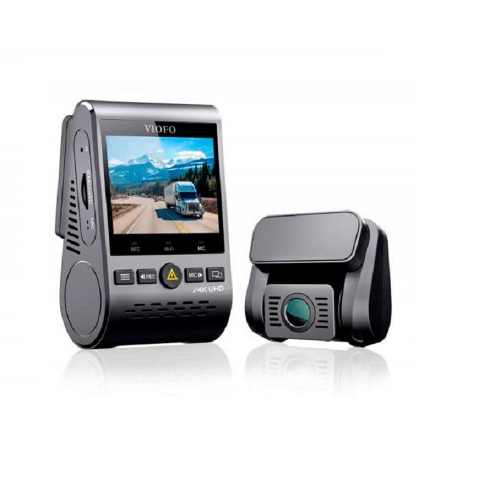 VIOFO A129 PRO DUO ULTRA 4K c GPS и второй камерой (+ Антисептик-спрей для рук в подарок!)