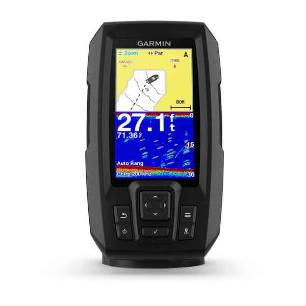 Эхолот Garmin STRIKER PLUS 4 кпк с gps навигатором