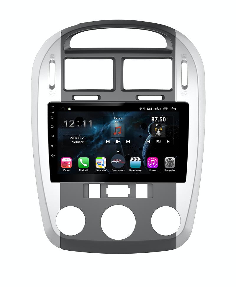 Штатная магнитола FarCar s400 для KIA Cerato на Android (H046R) (+ Камера заднего вида в подарок!)