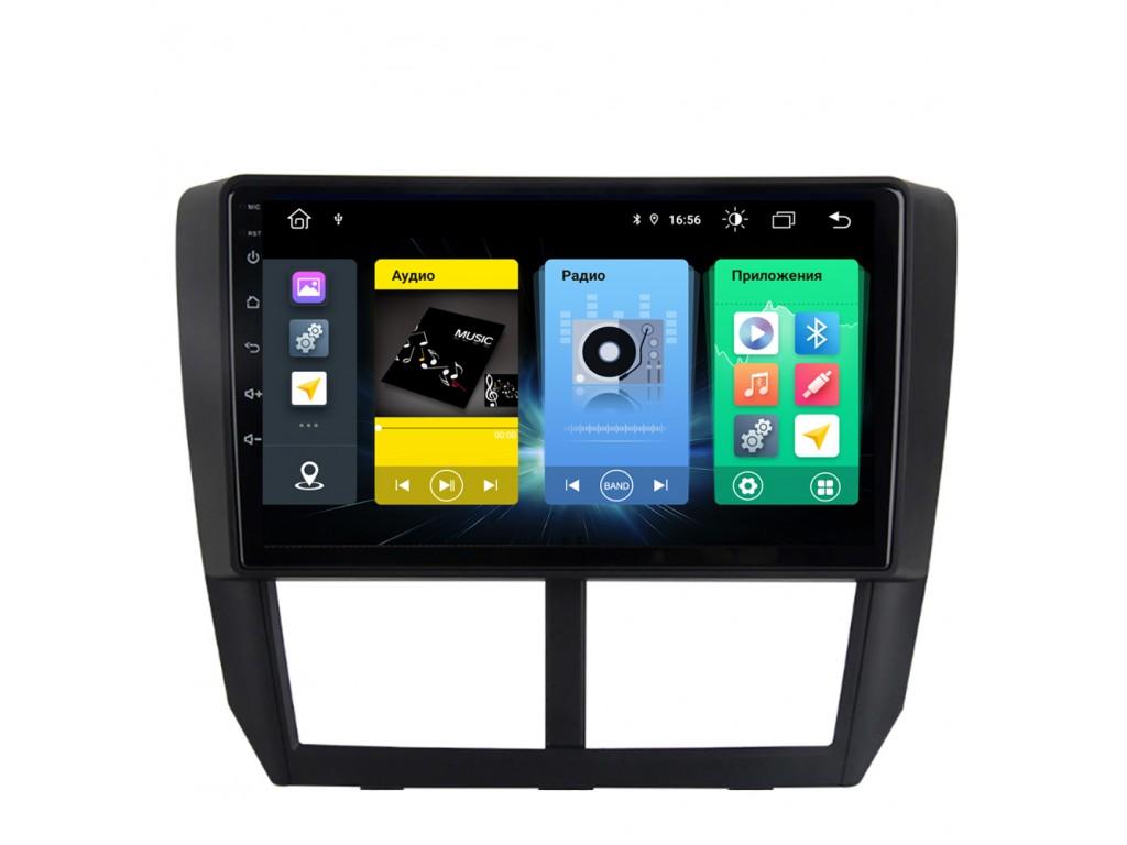 Головное устройство vomi FX438R9-MTK-LTE для Subaru Forester 3 12.2007-05.2013 (+ Камера заднего вида в подарок!)