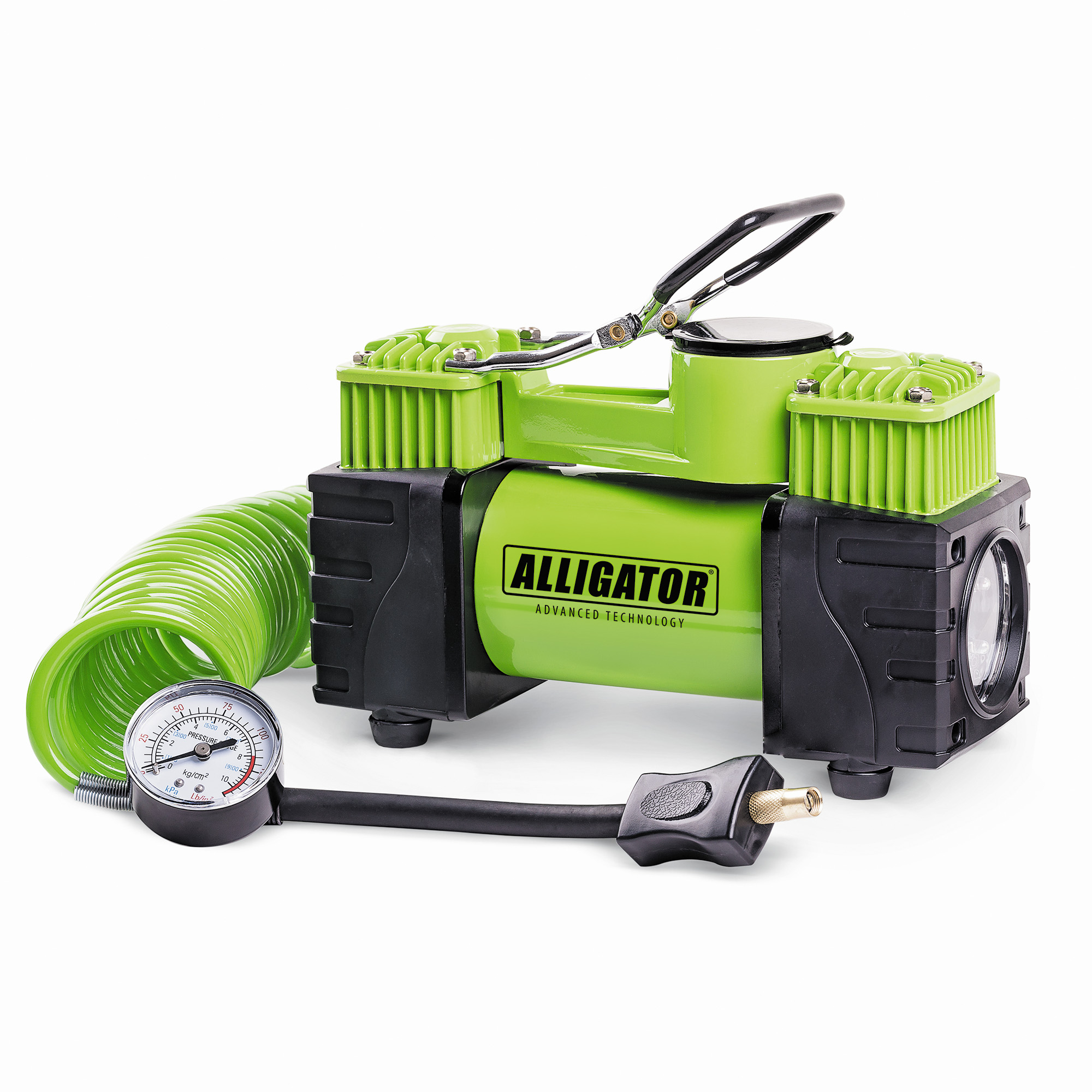 Компрессор автомобильный Аллигатор AL-500 автомобильный компрессор аллигатор al 350z