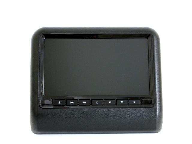 Навесной монитор на подголовник с диагональю 9 и встроенным DVD плеером TRINITY X-9F (Черный) power dvd проигрыватель скачать