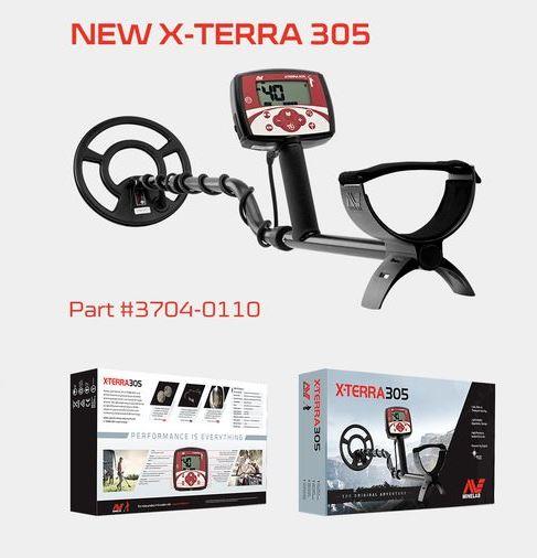 Металлодетектор Minelab X-Terra 305 NEW металлоискатель minelab x terra 505