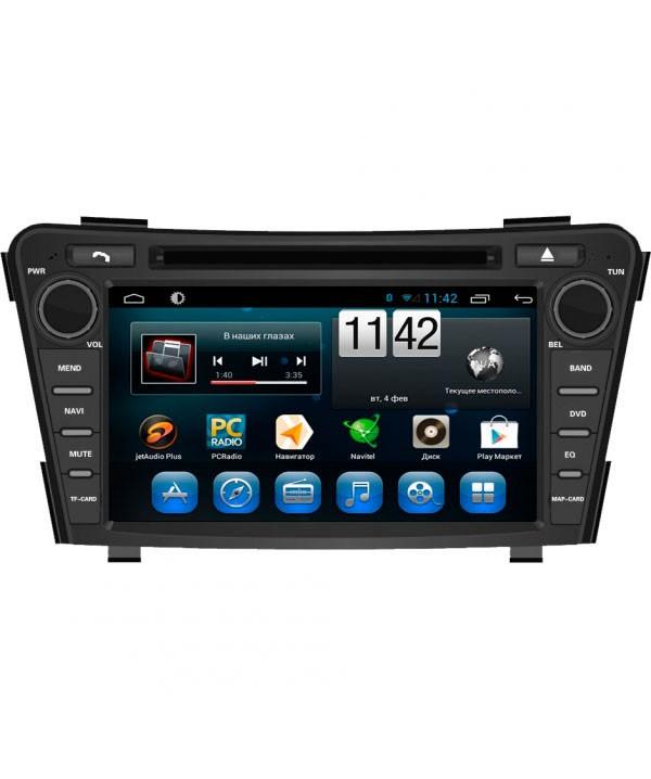 Штатная магнитола для Hyundai i40 (2011+) CARMEDIA QR-7124-T8 на Android 7.1 (+ камера заднего вида) штатная магнитола carmedia kr 7035 t8 для mazda cx 7 2006 2011 android 7 1