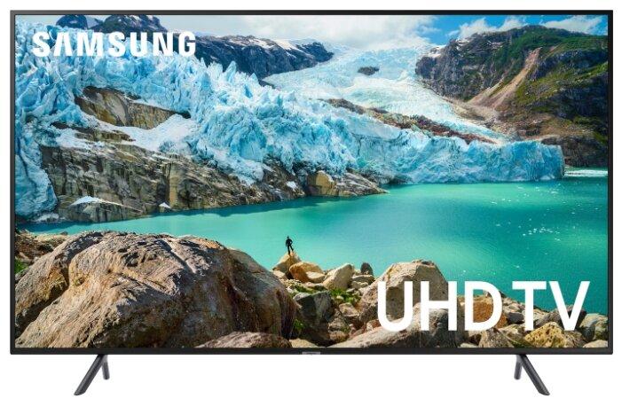 Фото - Телевизор LED Samsung 43 UE43RU7100UXRU 7 черный/Ultra HD/100Hz/DVB-T2/DVB-C/DVB-S2/USB/WiFi/Smart TV (RUS) кинотеатр