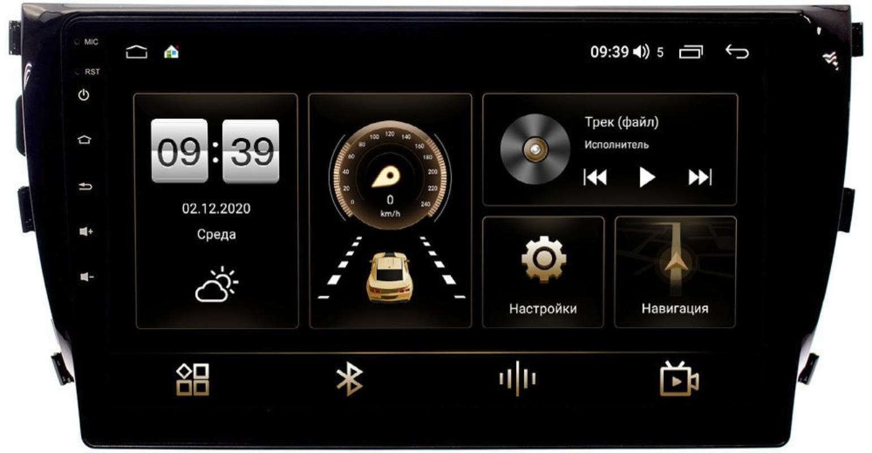 Штатная магнитола Zotye T600 LeTrun 4195-1076 на Android 10 (6/128, DSP, QLed) С оптическим выходом (+ Камера заднего вида в подарок!)