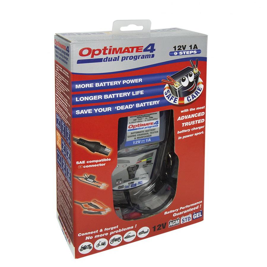 Зарядное устройство OptiMate 4 DUAL PROGRAMM TM340