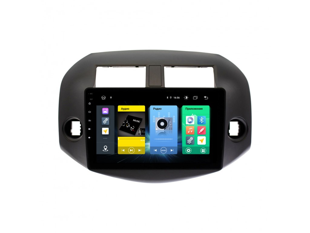 Головное устройство vomi FX363R10-MTK-LTE для Toyota RAV4 2006-2012 (+ Камера заднего вида в подарок!)