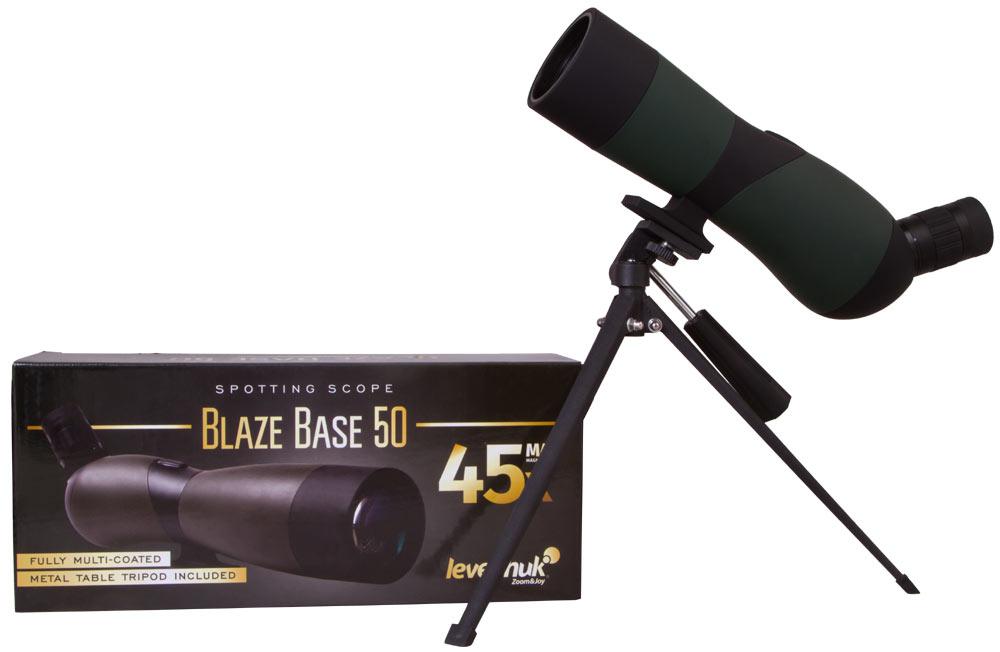 цена Зрительная труба Levenhuk Blaze BASE 50 (+ Салфетки из микрофибры в подарок) онлайн в 2017 году