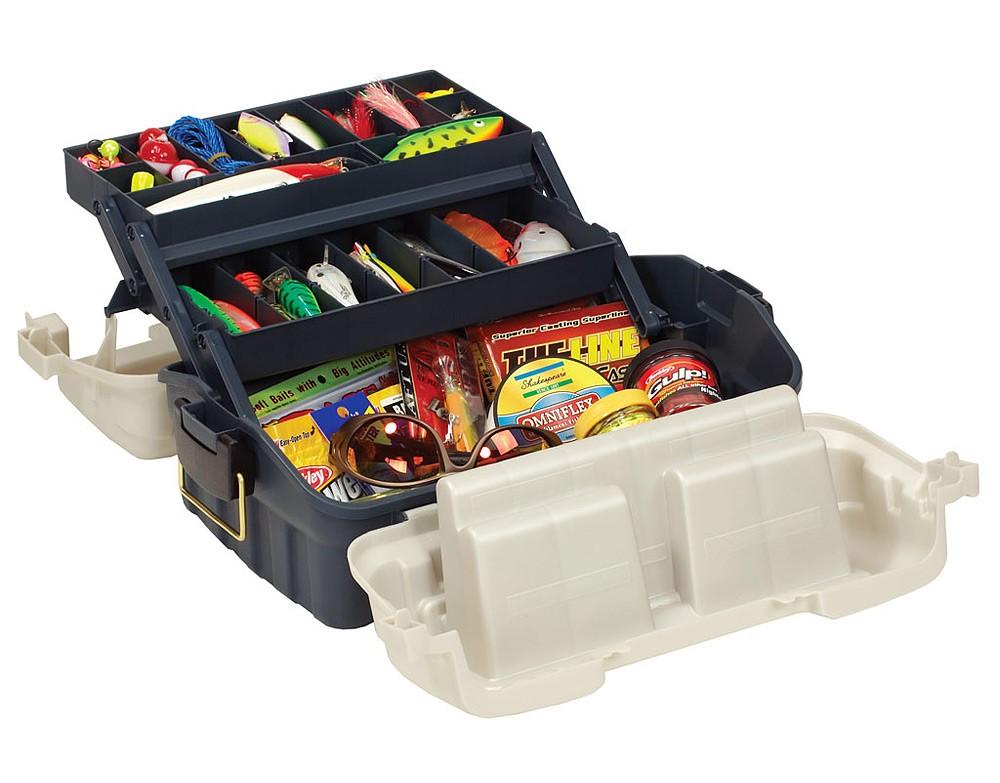 цена на Ящик Plano 7602-00 с 2х уровневой ситемой хранения приманок с быстрым доступом к приманкам