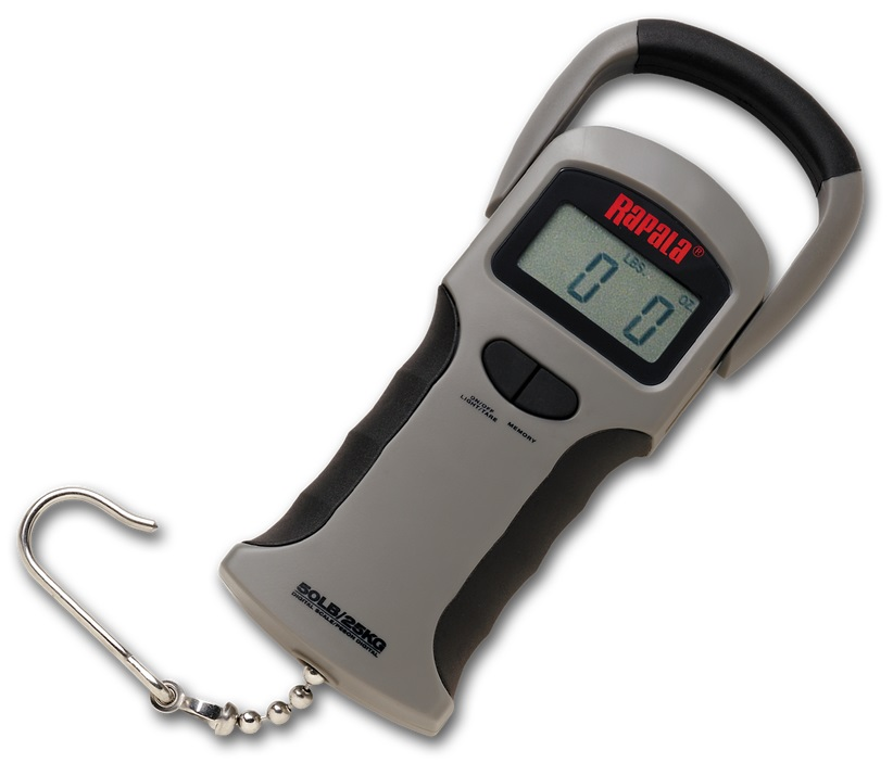 Rapala RGSDS-50 Электронные весы на 25 кг цена и фото