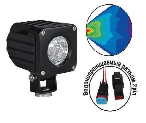 Светодиодные фары OFF-Road AVS Light FL-1410 (10Вт)