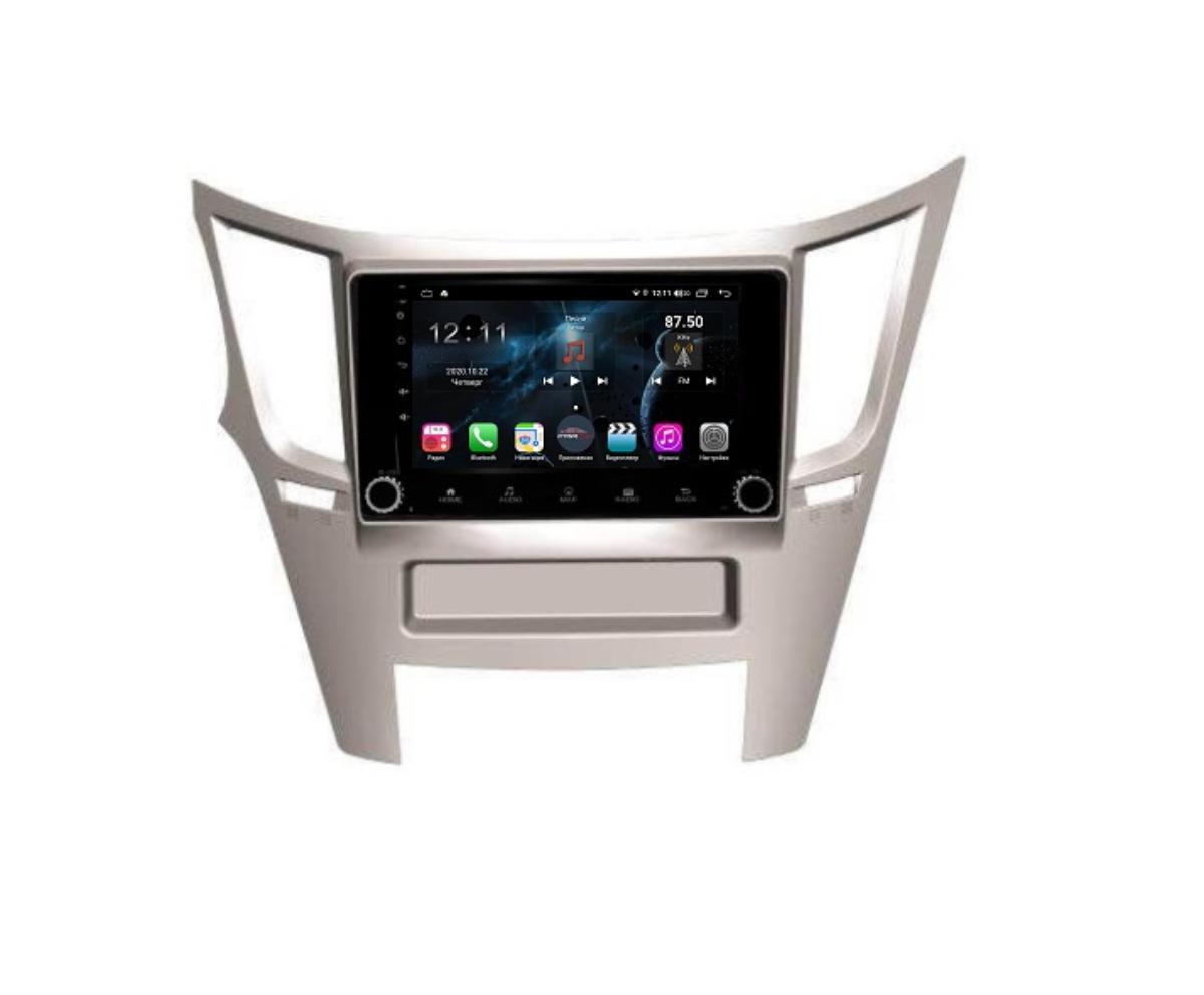 Штатная магнитола FarCar s400 для Subaru Legacy (2009-) Outback (2009-2014) на Android (H061RB) (+ Камера заднего вида в подарок!)