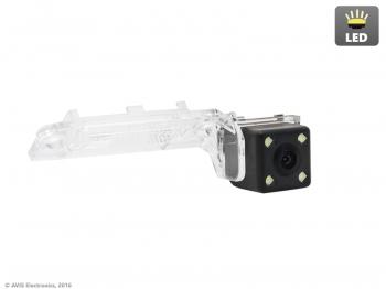 CMOS ECO LED штатная камера заднего вида AVS112CPR (#100) для автомобилей SEAT/ SKODA/ VOLKSWAGEN штатная магнитола carmedia ol 8992 dvd volkswagen skoda seat по списку