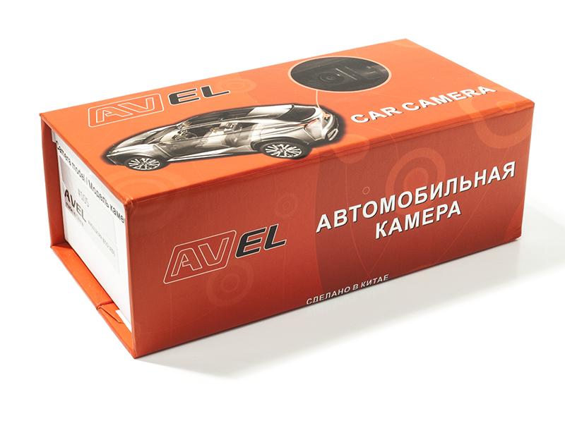CMOS ИК штатная камера заднего вида AVIS Electronics AVS315CPR (#031) для HYUNDAI SOLARIS SEDAN/ KIA CERATO II (2009-2012) / VENGA