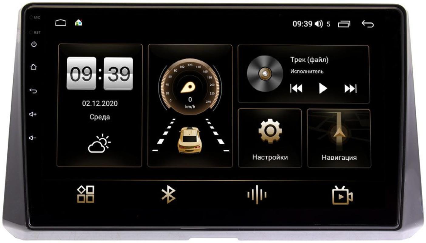 Штатная магнитола Toyota Corolla XII 2019-2021 LeTrun 3799-1078 на Android 10 (4/64, DSP, QLed) С оптическим выходом (+ Камера заднего вида в подарок!)