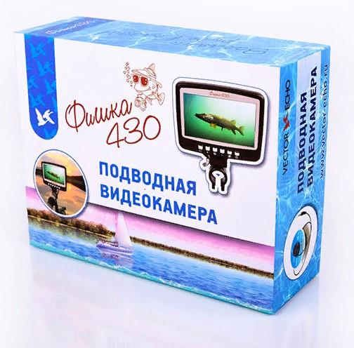 Подводная видеокамера Фишка 430 (Леска в подарок!)