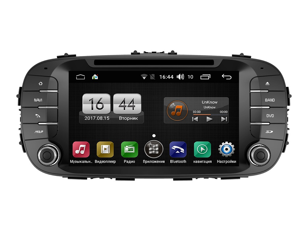 Штатная магнитола FarCar s170 для KIA Soul на Android (L526) labo car video player 7 hd 2 din car radio stereo gps navigation fm rds bluetooth remote control rear view camera