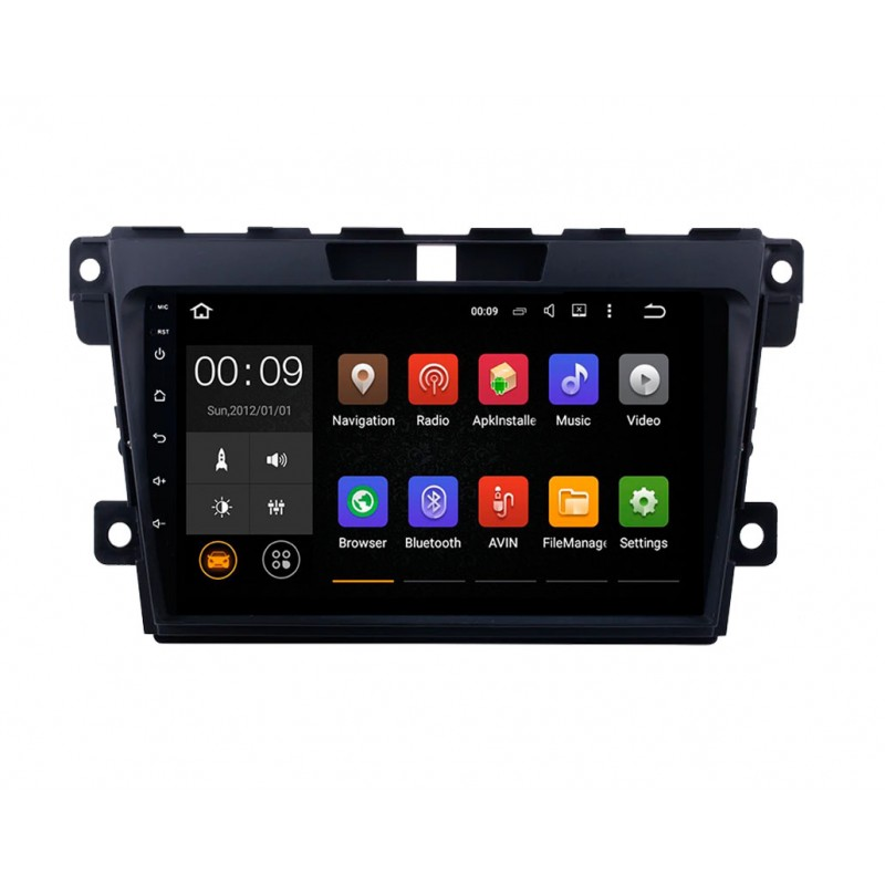 Штатная магнитола Roximo 4G RX-2402 для Mazda CX-7 (Android 6.0) (+ Камера заднего вида в подарок!)
