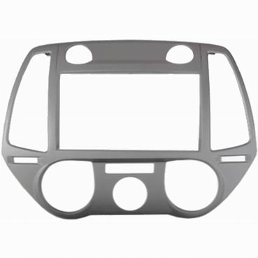 Переходная рамка Intro RHY-N40 для Hyundai i-20 2012+ 2DIN Silver переходная рамка intro 99 9011 для volkswagen skoda fabia 2din