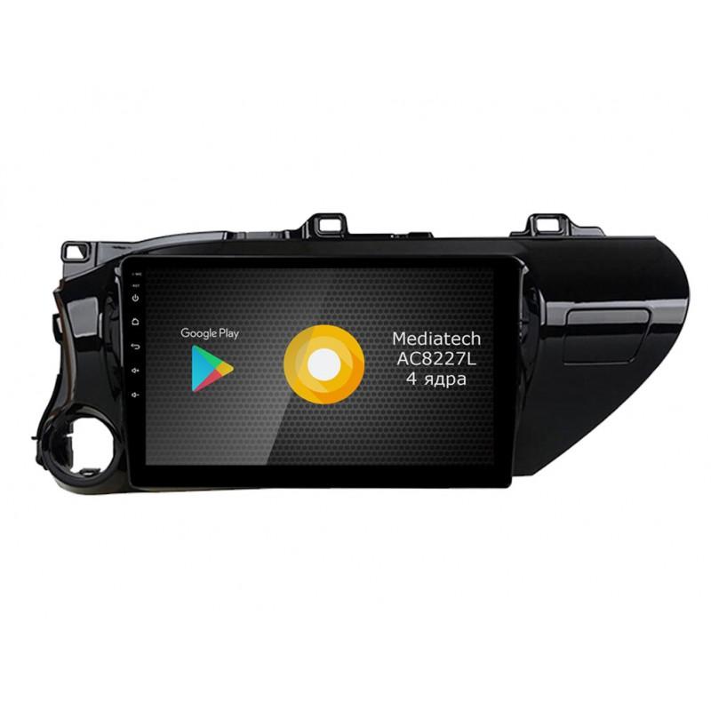 Штатная магнитола Roximo S10 RS-1119 для Toyota Hilux an120, 2015- (+ Камера заднего вида в подарок!)