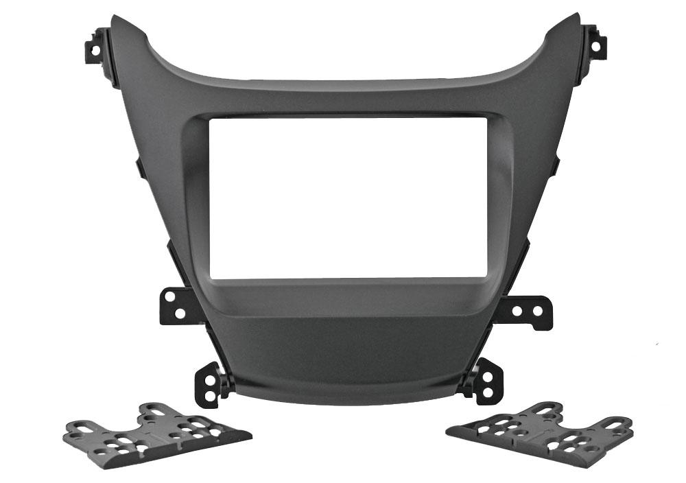 Переходная рамка Intro RHY-N42 для Hyundai Elantra 2014+ 2DIN (крепеж)
