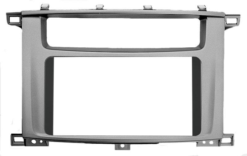 Переходная рамка Intro RTY-N04W для Toyota Land Cruiser 100 (105) 2din (вставка 201х101)