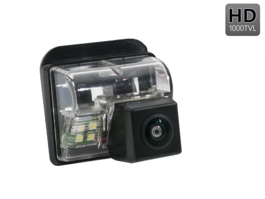 Штатная камера заднего вида Avis AVS327CPR (#044) для MAZDA СХ-5 / СХ-7 / СХ-9 / MAZDA 3 HATCHBACK / MAZDA 6 (GG, GY) SEDAN (2002-2008) / MAZDA 6 (GH) SPORT WAGON (2007-2012) / MAZDA 6 III SEDAN (2012-...) карандаш подкраски mazda 3
