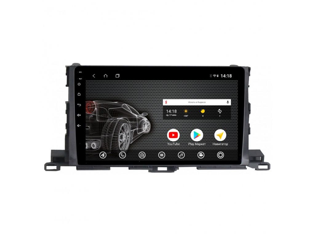 Головное устройство vomi ST2801-T3 для Toyota Highlander 2014+ (+ Камера заднего вида в подарок!)