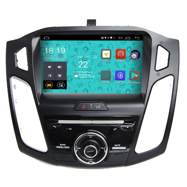 Штатная магнитола Parafar 4G/LTE с IPS матрицей для Ford Focus 3 2015+ DVD на Android 7.1.1 (PF155D) (+ Камера заднего вида в подарок!)