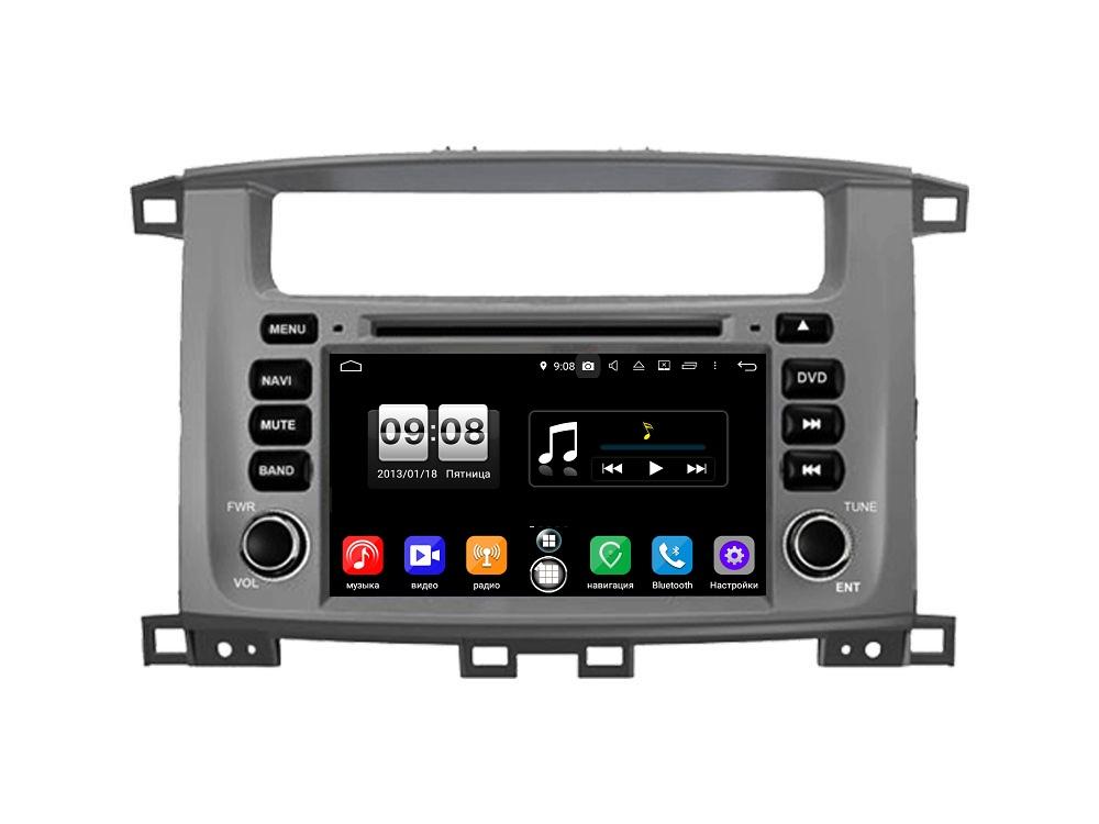 Штатная магнитола FarCar s250 для Toyota Land Cruiser 100, Lexus LX 470 на Android (RA457) (+ Камера заднего вида в подарок!)