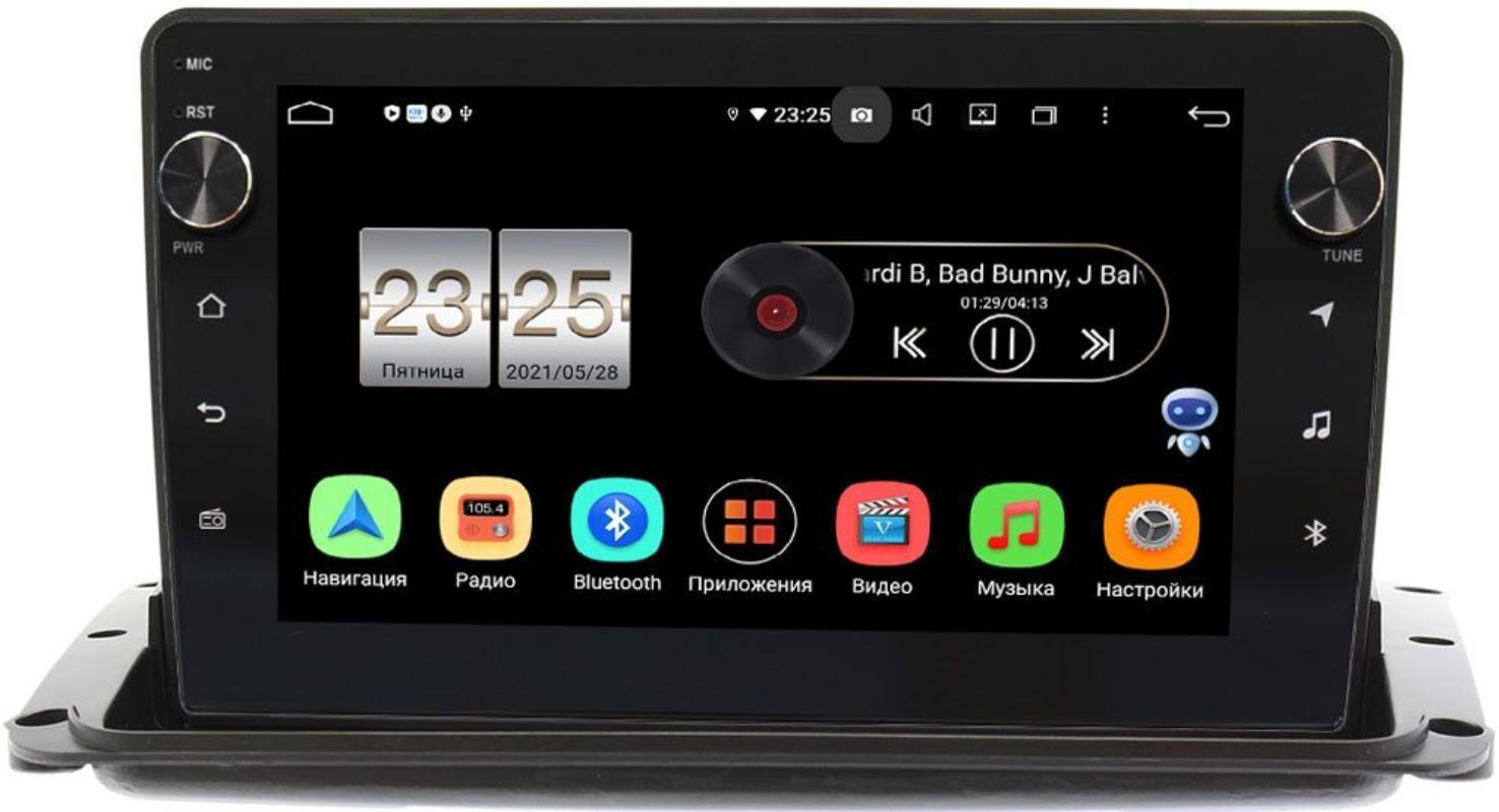 Штатная магнитола Haima 7 2013-2020 LeTrun BPX609-9333 на Android 10 (4/64, DSP, IPS, с голосовым ассистентом, с крутилками) (+ Камера заднего вида в подарок!)
