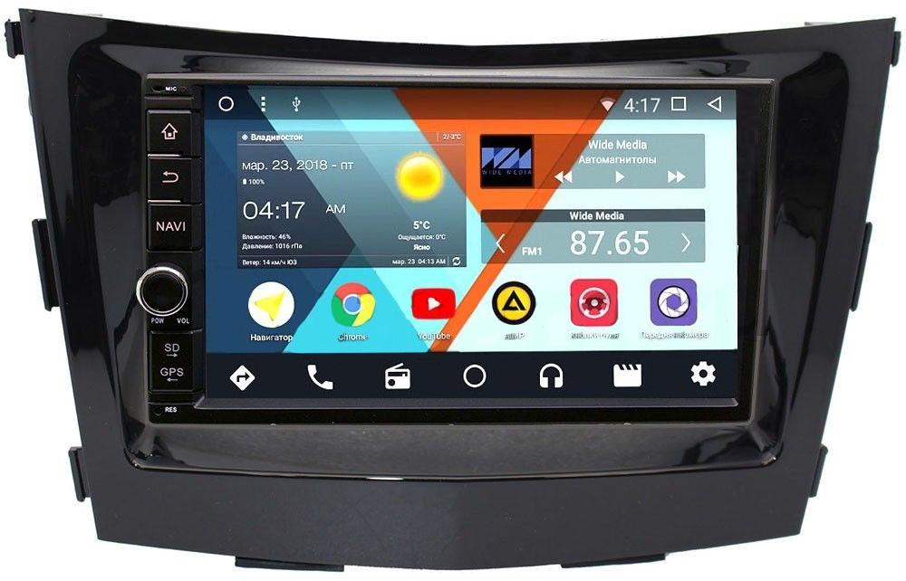 Штатная магнитола Wide Media WM-VS7A706NB-2/16-RP-SYTV-16 для SsangYong Tivoli, XLV 2015-2018 Android 7.1.2 (+ Камера заднего вида в подарок!) штатная магнитола wide media wm vs7a706nb 2 16 rp chtg 46 для gaz газель next android 7 1 2
