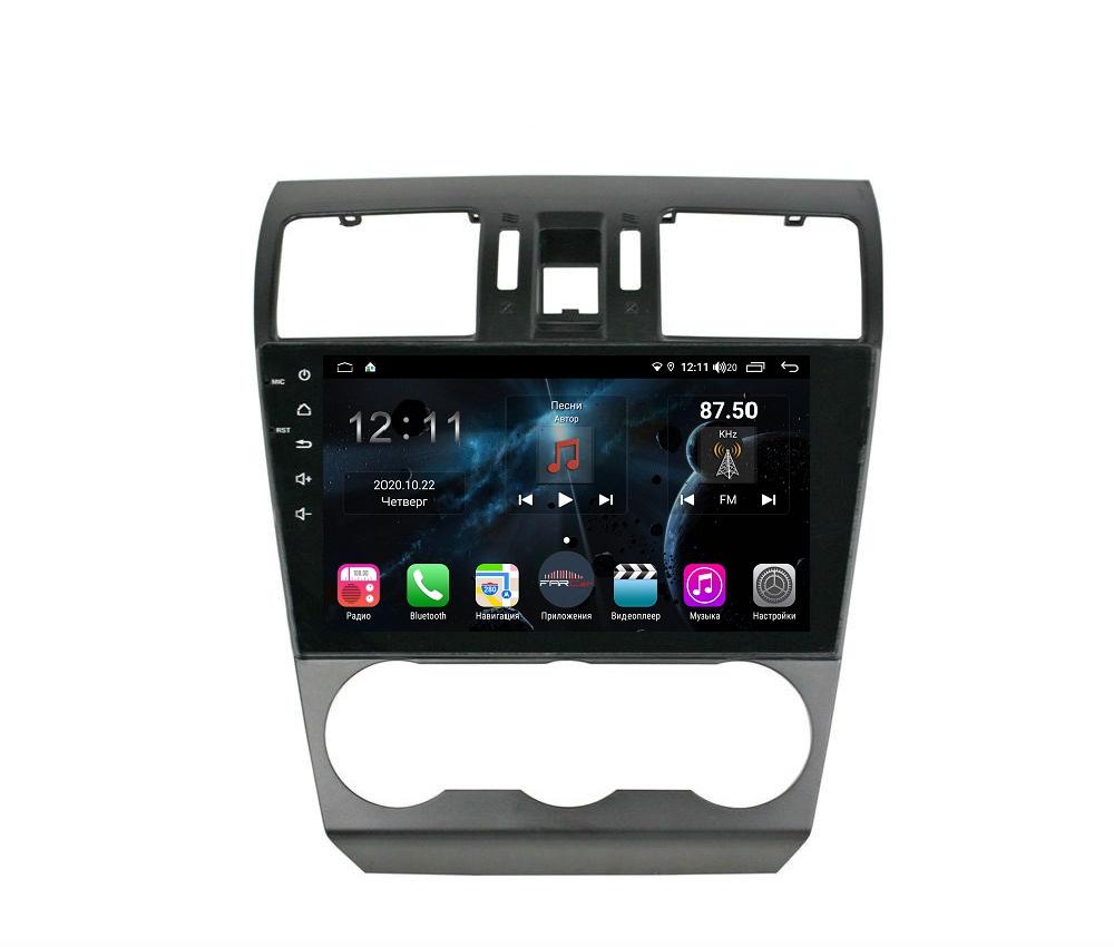 Штатная магнитола FarCar s400 для Subaru Forester,XV 2013-2015 на Android (H901/775R) (+ Камера заднего вида в подарок!)
