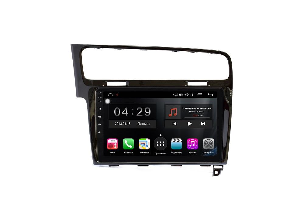 цена на Штатная магнитола FarCar s300-SIM 4G для Volkswagen Golf 7 2013+ на Android (RG257R) (+ Камера заднего вида в подарок!)
