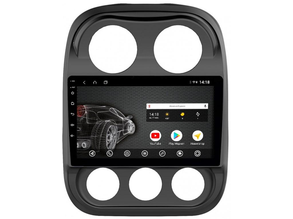 Головное устройство vomi ST436R10-T3 для Jeep Compass 07.2011 - 12.2015 (+ Камера заднего вида в подарок!)