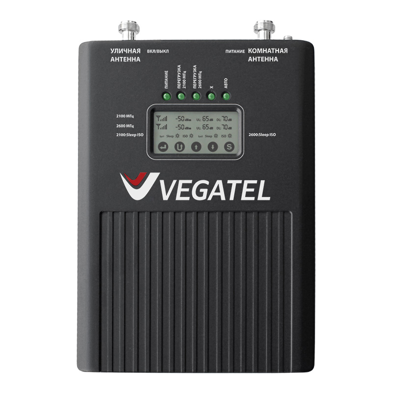 Репитер VEGATEL VT2-3G/4G (LED) original unlock huawei e5573s 606 portable lte fdd mobile wifi 150mbps 4g wireless router with sim card slot plus antenna